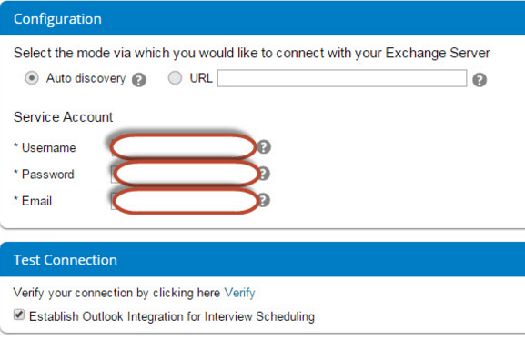 SuccessFactors to Outlook Integration for Interview Scheduling