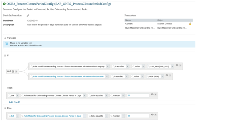 SAP SuccessFactors Q1 2019 release Task Archival